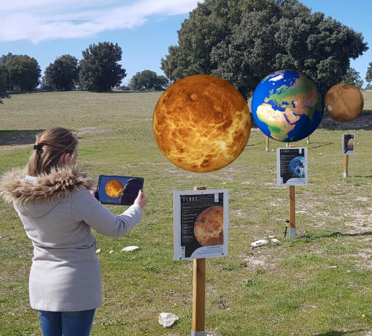 parcours système solaire