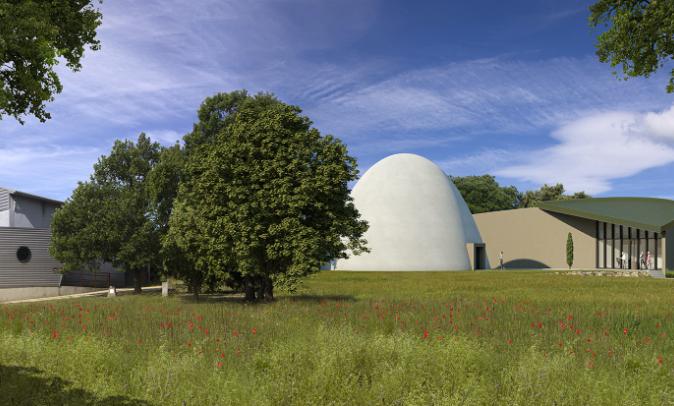 vue architecte planétarium