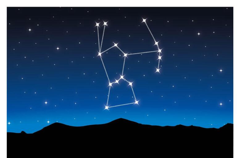 dessin constellation